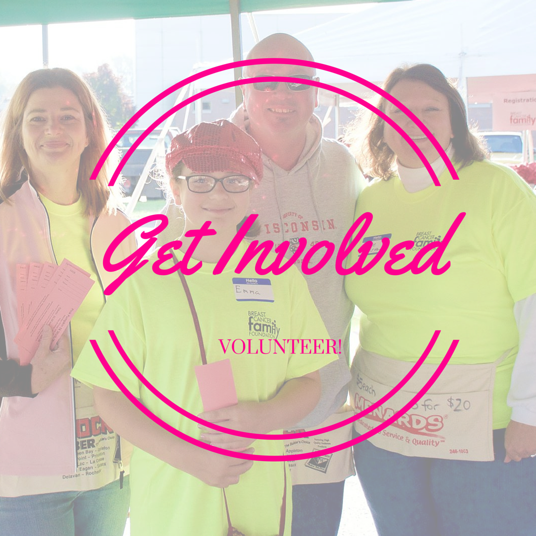 Volunteer with Breast Cancer Family Foundation