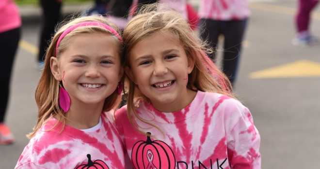 Pink Pumpkin Walk 2016