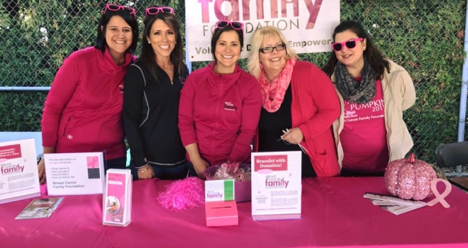 Breast Cancer Family Foundation Team
