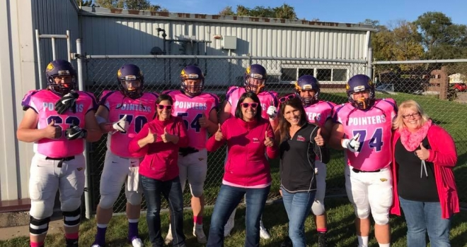 Steven Point Pink Game